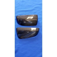 CARBON FIBER MIRROR COVERS FIT  05-09 MUSTANGS