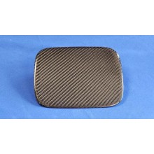CARBON FIBER GAS DOOR COVER FOR 92-95 CIVIC COUPE