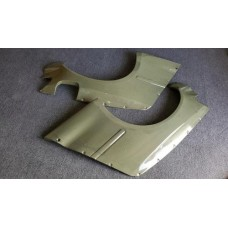 NEW KEVLAR WIDE REAR FENDERS FOR 92-95 CIVIC HB (EG)