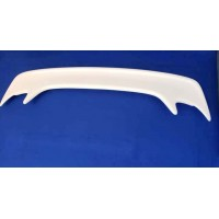 SPECIAL-WHITE FIBER GLASS SPOILER FITS 94-98 MUSTANG