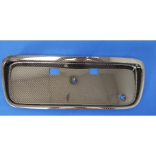 CARBON FIBER LICENSE PLATE COVER fits 96-00 CIVIC DX-SI-EX-HX