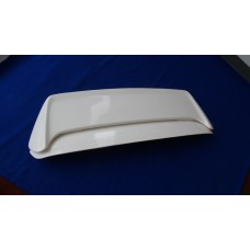 WHITE FIBER GLASS ZEAL WING FITS 96-00 CIVIC HATCHBACK EK-9