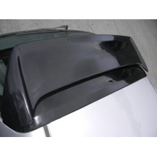 BLACK FIBER GLASS ZEAL WING FITS 96-00 CIVIC HATCHBACK