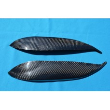 CARBON FIBER EYELID COVERS FITS 96-98 CIVIC