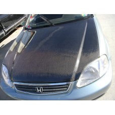 CARBON FIBER HOOD  fits 96-98 CIVIC HATCHBACK