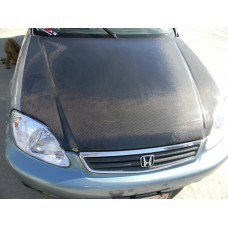 CARBON FIBER HOOD fits 92-95 CIVIC HATCHBACK