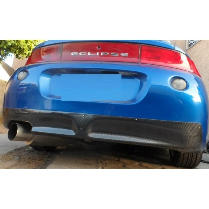 carbon fiber rear diffuser fits 95 99 eclipse 2g