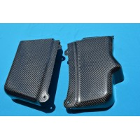 CARBON FIBER BATTERY AND MASTER CYLINDER COVERS