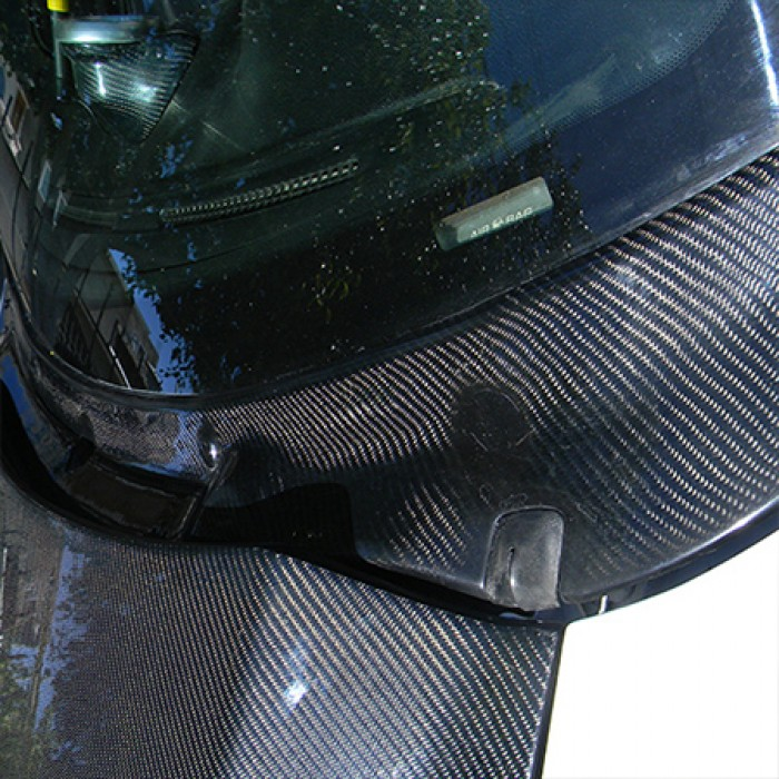 Ford focus carbon fiber windshield wiper cowl