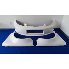 NEW FIBER GLASS 3 PIECE FRONT END FOR 99-00 CIVIC