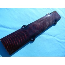 RED KEVLAR CARBON FIBER SPARK PLUG COVER B-SERIES