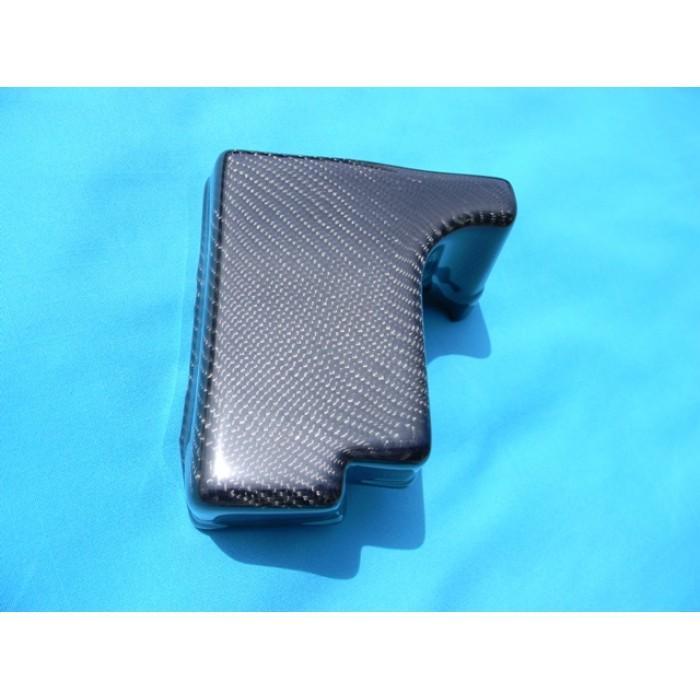 sti carbon fuse box cover carbon fiber fuse box cover fits 02-07 subaru wrx or sti