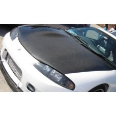 CARBON FIBER HOOD fits 95-99 ECLIPSE 2G
